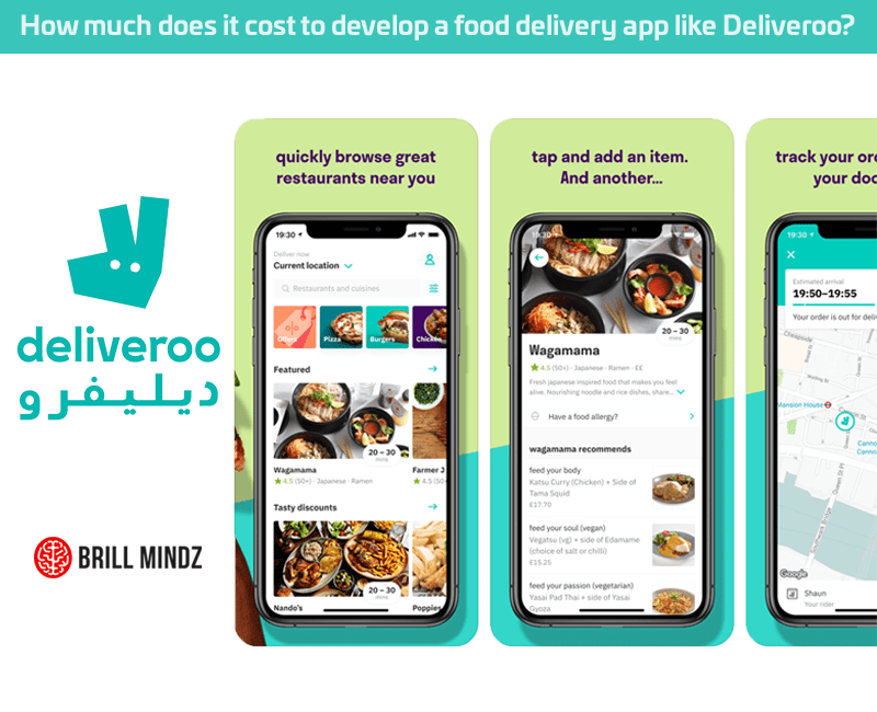 How much does it cost to develop an app like Deliveroo?