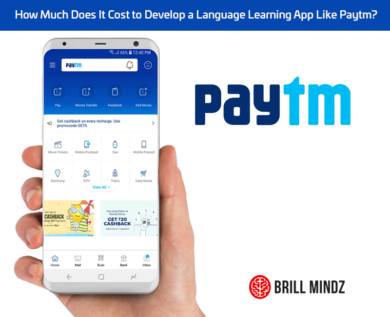 How much does it cost to develop an android iOS app like Paytm ?