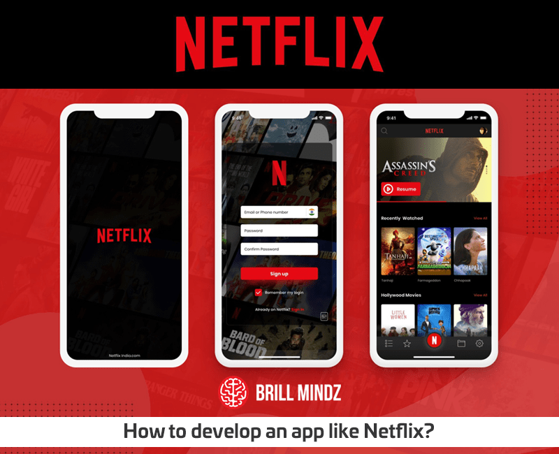 How to develop an app like Netflix?