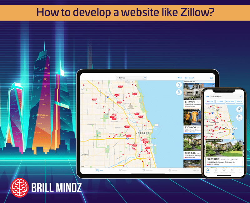 How to develop a website like Zillow in Dubai
