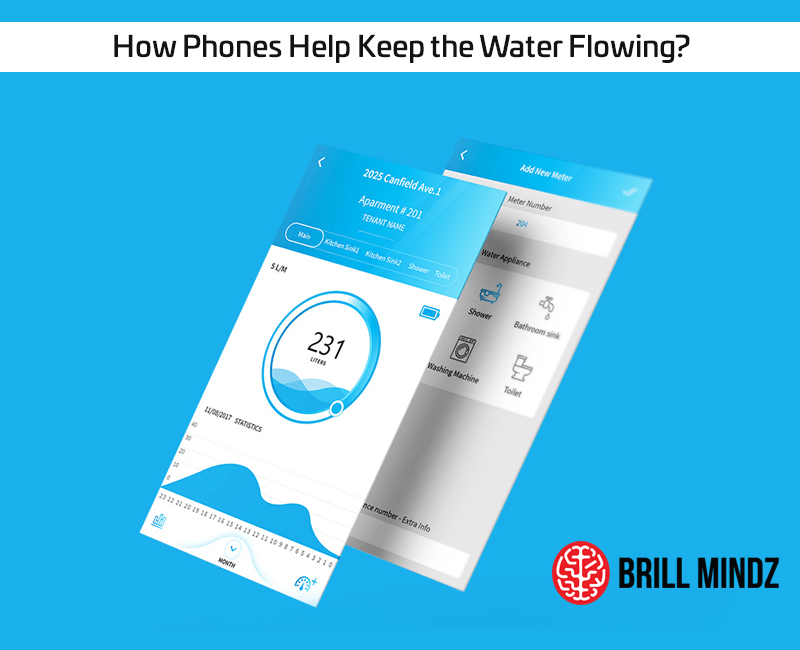How Phones Help Keep the Water Flowing