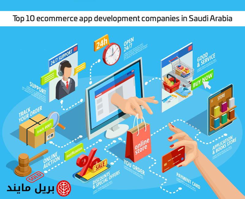Top 10 eCommerce app development companies in Saudi Arabia
