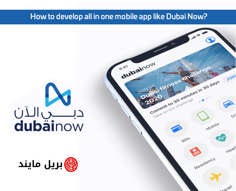 How to develop all in one mobile app like Dubai Now