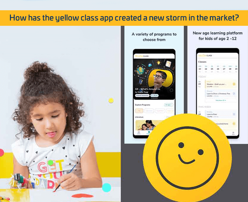 yellow class app created a new storm